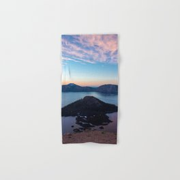 Crater Lake Sunrise Hand & Bath Towel