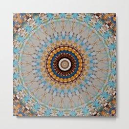 New Color Pyramidal Mandala 53 Metal Print