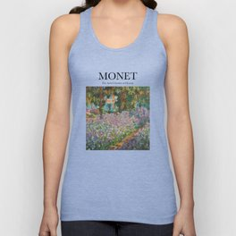 Monet - The Artist's Garden at Giverny Unisex Tank Top