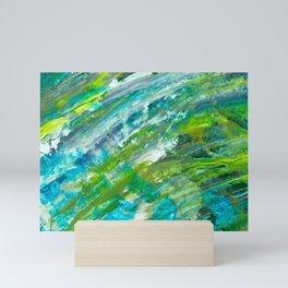 Abstract Green Mini Art Print