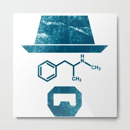 the chemist breaking bad Metal Print
