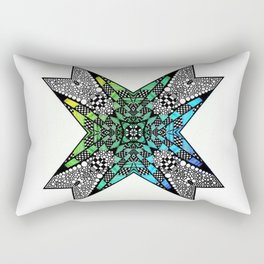 [octagon tunnel] Rectangular Pillow