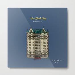 The Plaza Hotel Metal Print
