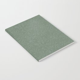 Butterfly blossom green Notebook