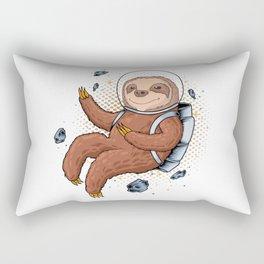 Astronaut Sloth Rectangular Pillow