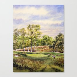 Merion Golf Course 17th Hole Canvas Print