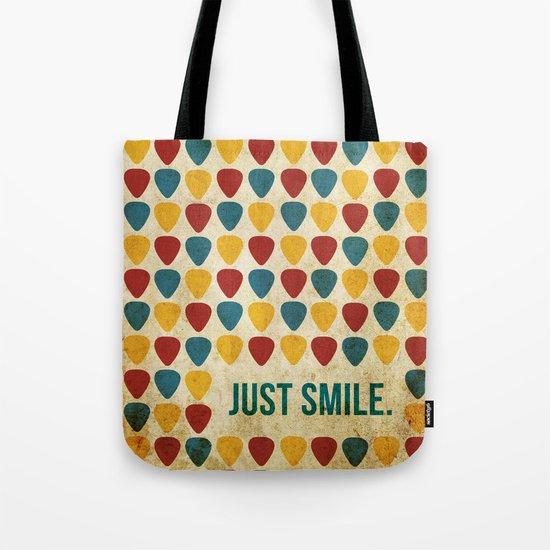 Just Smile. Tote Bag