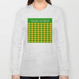 Class of 2018...Green , orange Long Sleeve T-shirt