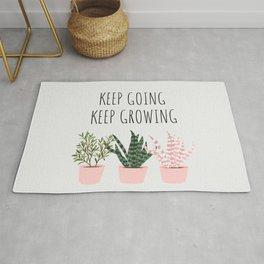 Keep Going, Keep Growing Rug