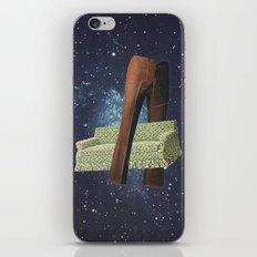 Space time fabric iPhone & iPod Skin