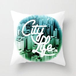 CityLife Throw Pillow