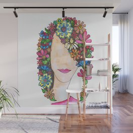 Pageboy Wall Mural