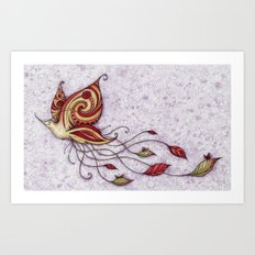 Hummerfly Art Print