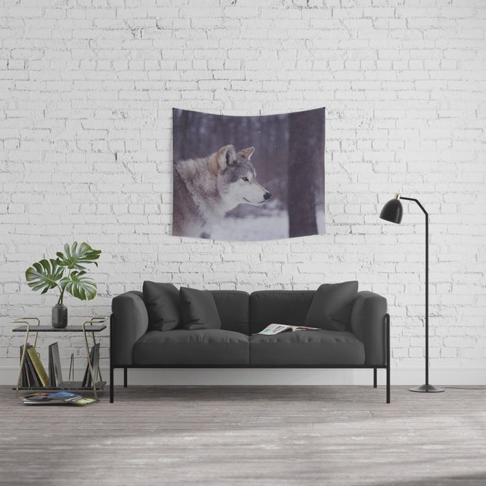 Cana Portrait Wall Tapestry