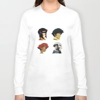 cowboy bebop Long Sleeve T-shirts featuring Cowboy Bebop - Bounty Days by Aaron Secrist