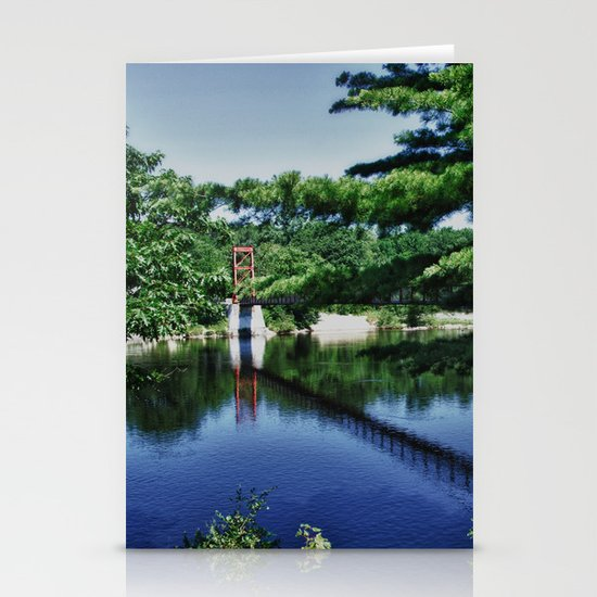 Androscoggin Swing Bridge Stationery Cards