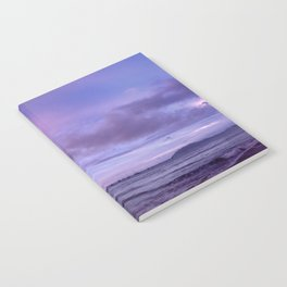 Peaceful Sunset Panoramic  Notebook