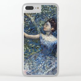 Edgar Degas - Dancer With A Tambourine Clear iPhone Case