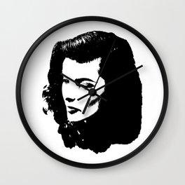 Katharine Hepburn Is Stunning Wall Clock