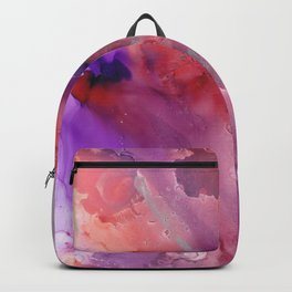Alcohol Ink 'The Last Unicorn' Backpack
