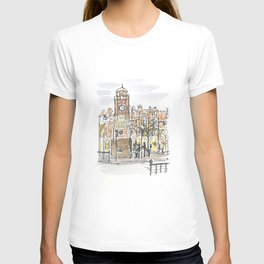 crouch end clock tower T-shirt