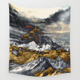 Gold Mountain Wall Tapestry
