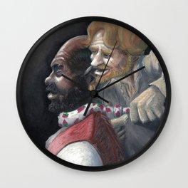 Honest Iago Wall Clock
