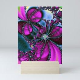 Flowering Rythm Mini Art Print