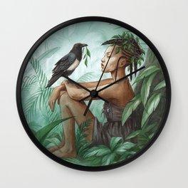 Kadiatou ~ A Compendium Of Witches Wall Clock