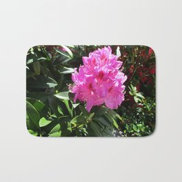 Pink Rhododendron Bath Mat