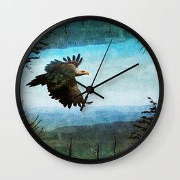 Eagle World Wall Clock