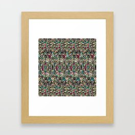 Multicoloured Rice, Rice Baby Framed Art Print
