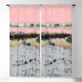 Lights of nature Blackout Curtain