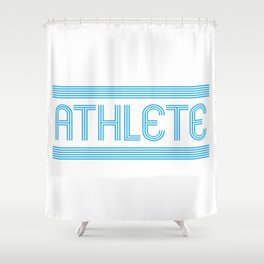 Athlete Shower Curtain