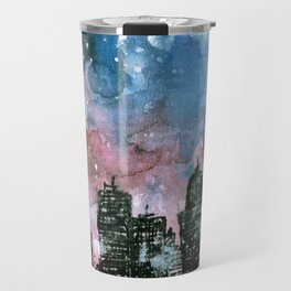 buildings architecture galaxy Travel Mug