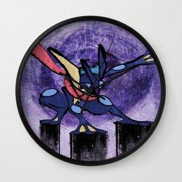Greninja Wall Clock