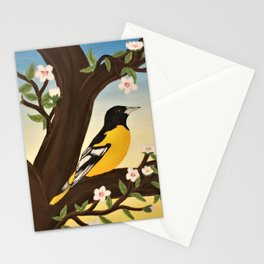 Oriole at Sunset Stationery Cards