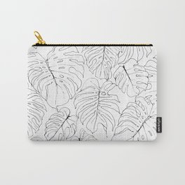 Monstera Deliciosa (Delicious Monster Leaves) Carry-All Pouch