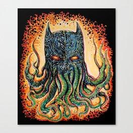 Bat Cthulhu Canvas Print