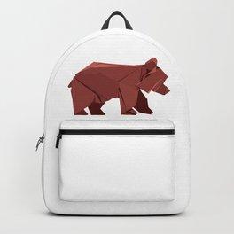 Origami Bear Backpack