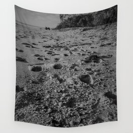 On beach time- Woodgate Beach, Qld Wall Tapestry