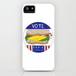Birdie Sandwich iPhone Case