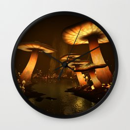 Enchanted Forest - Meltdown Wall Clock
