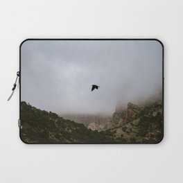 Free as a bird flying through the mountains, Big Bend - Landscape Photography Laptop Sleeve