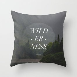 WILDERNESS — Throw Pillow