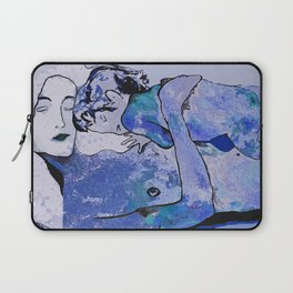 """Klimt deserves a """"Blue Period""""  Laptop Sleeve"""