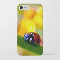 ladybug iPhone & iPod Cases featuring Ladybug  by Vicki Field
