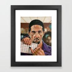 Jesus Quintana. Framed Art Print