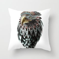 Fantasy Eagle Art Throw Pillow