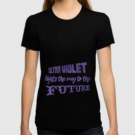 Watercolor Splattering in Ultra Violet (2018 Pantone color) T-shirt